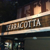 Photo taken at Terracotta Café by Eduardo P. on 6/27/2013