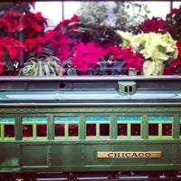 Photo taken at Volunteer Park Conservatory by Aaron R. on 12/29/2012