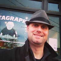 Photo taken at Fantagraphics Bookstore & Gallery by Aaron R. on 11/23/2013