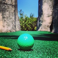 Photo taken at Camp Putt by Aaron R. on 7/12/2014