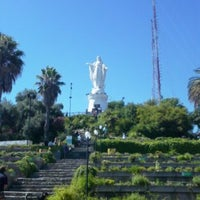 Photo taken at Parque Metropolitano de Santiago by Gabriel J. on 7/21/2013