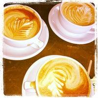 Photo taken at Think Coffee by Jennifer W. on 1/12/2013
