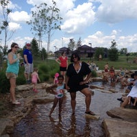 Photo taken at Splash Pad by Jacqueline F. on 7/9/2014