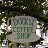 Photo taken at Dock Street Coffee Shop by 🍕 on 8/13/2013
