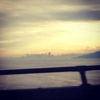 Photo taken at Richmond-San Rafael Bridge by Alan H. on 1/1/2013