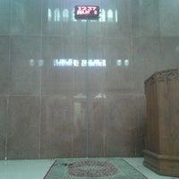 Photo taken at Masjid Baiturrahim by Mokhammad M. on 1/10/2012