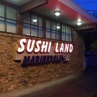 Photo taken at Marinepolis Sushi Land by Robert B. on 12/8/2015