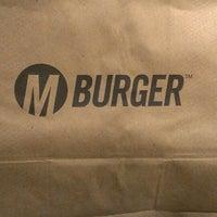 Photo taken at M Burger by @jayelarex on 4/19/2013