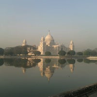 Photo taken at Victoria Memorial by Nishant S. on 2/25/2013