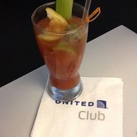 Photo taken at United Club by Travis L. on 4/5/2013