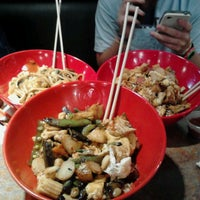 Photo taken at Genghis Grill by Whitley S. on 5/7/2013