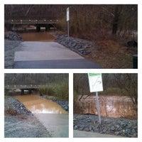 Photo taken at Muddy Creek Greenway by Kipp H. on 1/11/2014