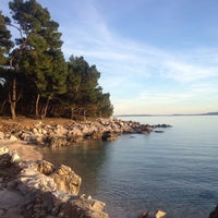 Photo taken at Plaža Frkanj by Just I on 11/20/2014
