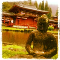 Photo taken at Byodo-In Temple by Yeanne H. on 1/7/2013