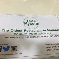 Photo taken at Café Mysore by Ashwin V. on 1/3/2017