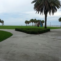 Photo taken at Vinoy Park by Andrea B. on 6/29/2013
