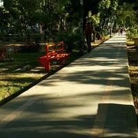 Photo taken at Taman Segitiga Macan by erin e. on 8/31/2015