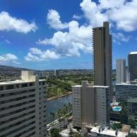 Photo taken at Royal Garden at Waikiki Hotel by Anthony H. on 6/8/2016