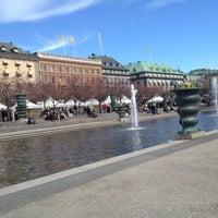Photo taken at Kungsträdgården by Anna🍒 P. on 5/3/2013