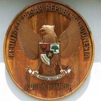 Photo taken at Kedutaan Besar Republik Indonesia by Helmi Abu Bakar on 9/25/2012