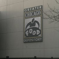 Photo taken at Greater Chicago Food Depository by Louis X. on 10/31/2012