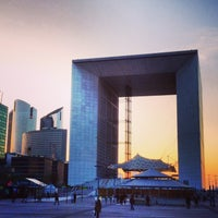 Photo taken at Grande Arche de la Défense by Роман И. on 3/20/2013