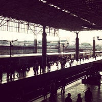 Photo taken at Estação Brás (CPTM) by Everton d. on 7/27/2013