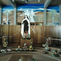 Photo taken at Santuario Santa Teresita de los Andes by Andrea R. on 10/10/2012