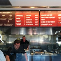 Photo taken at Chipotle Mexican Grill by Brian B. on 10/28/2012