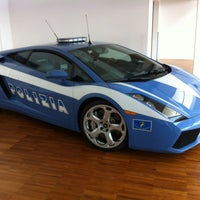 Photo taken at Automobili Lamborghini S.p.A. by Ian R. on 5/22/2013