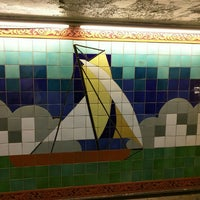 Photo taken at MTA Subway - South Ferry (1) by Alvin on 3/31/2016
