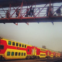 Photo taken at Gurgaon Railway Station (GGN) by Anubhav T. on 2/15/2013