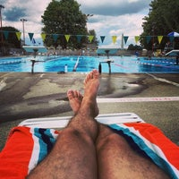 Photo taken at East Potomac Park Pool by Jason T. on 8/21/2016