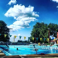 Photo taken at East Potomac Park Pool by Jason T. on 8/20/2016