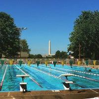 Photo taken at East Potomac Park Pool by Jason T. on 8/22/2015