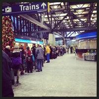 Photo taken at VIA Rail Ottawa by Lisa H. on 12/28/2012