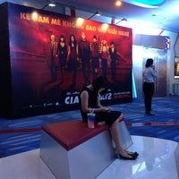 Photo taken at MegaStar @ Crescent Mall by Anh P. on 8/10/2013