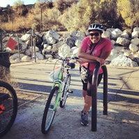 Photo taken at Santa Clarita Bike Trail by Brad W. on 10/28/2012