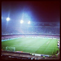 Photo taken at Stadio San Paolo by Andrea M. on 10/7/2012