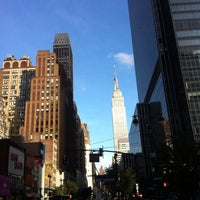 Photo taken at 34th & 8th by Leigh S. on 9/21/2013