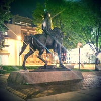 Photo taken at Freimann Square by Tyler K. on 5/13/2014