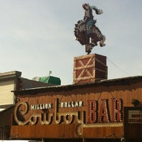 Photo taken at Million Dollar Cowboy Bar by Jorge H. on 2/20/2013