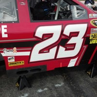Photo taken at Martinsville Speedway TV Compound by Roger B. on 10/27/2012