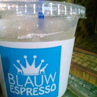 Photo taken at BLAUW ESPRESSO by Nijimu A. on 5/28/2015