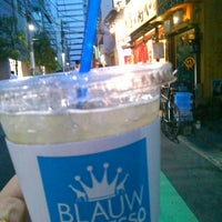 Photo taken at BLAUW ESPRESSO by Nijimu A. on 5/5/2015
