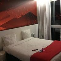 Photo taken at Pantone Hotel by Jennifer C. on 3/1/2013