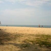 Photo taken at Desaru Beach by Wayne C. on 5/26/2013