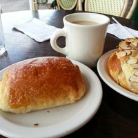 Photo taken at Croissant-Brioche by Linda on 11/22/2012