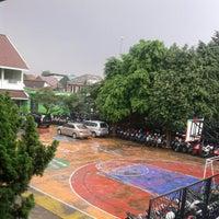 Photo taken at SMAN 46 Jakarta by Edrian Purnama S. on 1/18/2013
