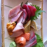 Photo taken at Sushi Noguchi by CJ Y. on 7/17/2013